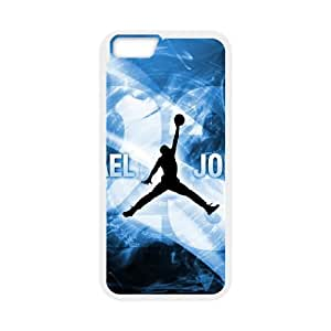 iPhone 6 4.7 Inch Cell Phone Case White Jordan logo Phone Case Cover Protective Custom CZOIEQWMXN11544