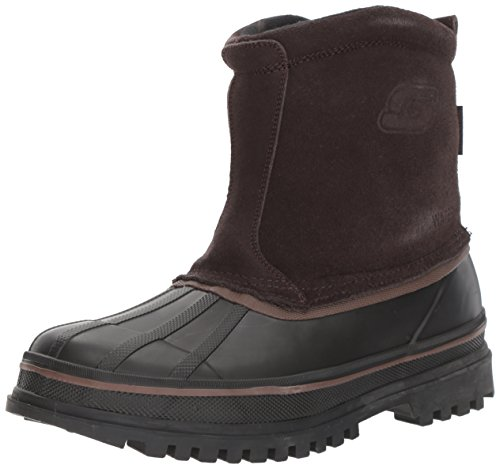 Skechers USA Mens Revine Ankle Boot Brown