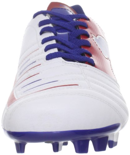 PUMA Mens PowerCat 4.12 Fg Soccer Cleat White/Ribbon Red/Limoges cpC2IH