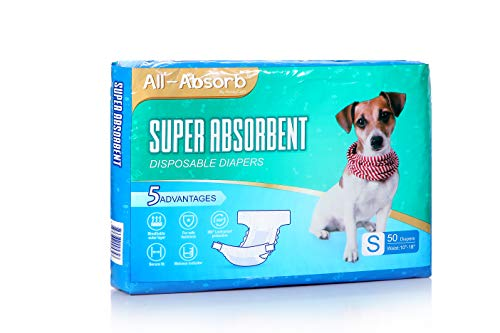 All-Absorb Disposable Dog Diapers, Small
