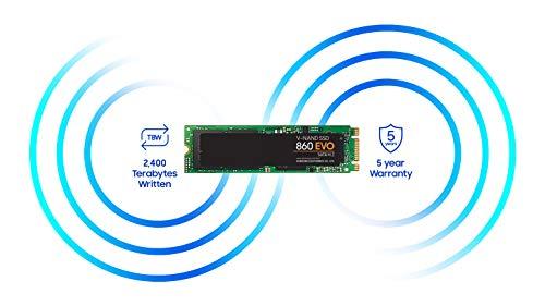 Samsung 860 EVO 1TB M.2 SATA Internal SSD (MZ-N6E1T0BW)