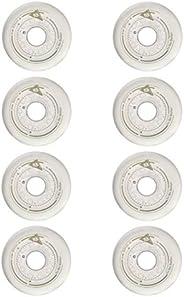 SzBlaZe 88A Abrasion-Resistant PU Inline Skates Wheels Size 80mm 76mm 72mm for Choose Good for Braking/FSK/FNS