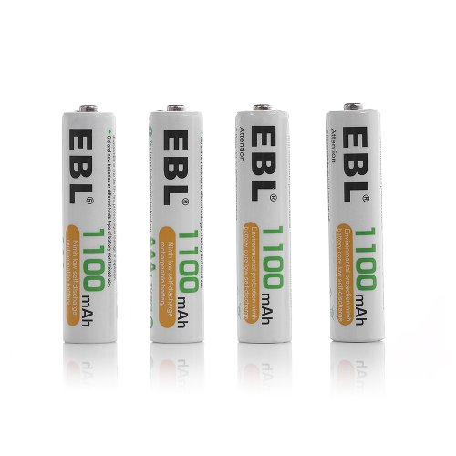 EBL 808 Rapid 8 Bay Smart AA AAA Battery Charger with 8pcs 1100mAh Ni-MH AAA Rechargeable Batteries by EBL (Image #3)