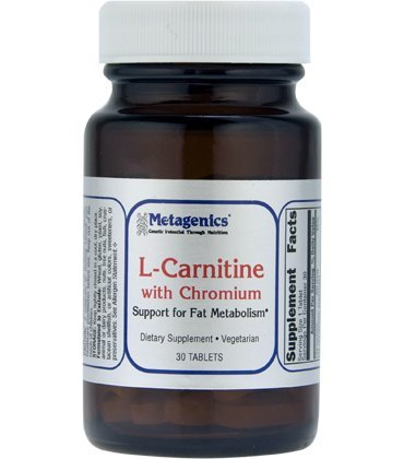 Metagenics L Carnitine with Chromium, 30 Count