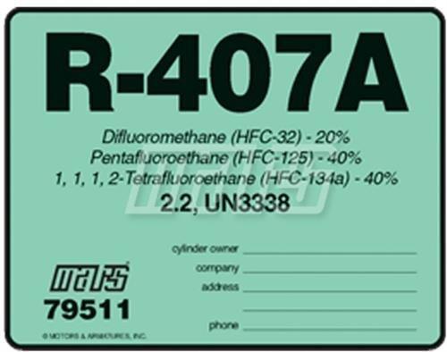 407a refrigerant - 1