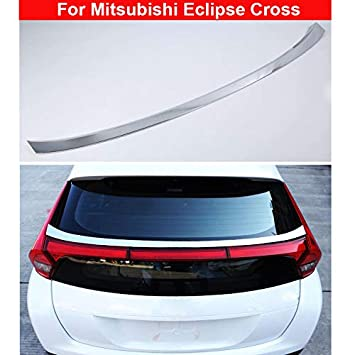 HIGH FLYING f/ür Eclipse Cross 2018 2019 Exterieur Hintere T/ür Stylingleisten ABS Kunststoff verchromt 1 St/ück