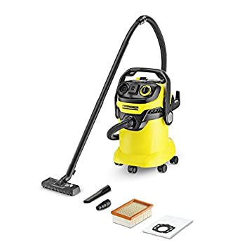 Karcher WD5 P Multi Purpose Wet Dry Vacuum Cleaner With Semi Automatic Filter