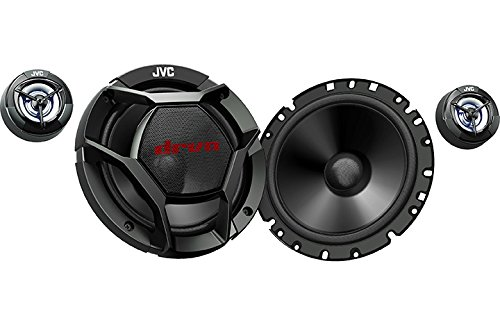 JVC CS-DR1700C 360W Peak (55W RMS) 6.75a 2-Way Factory Upgrade Component Speakers (Does Not Include Crossovers) - ()