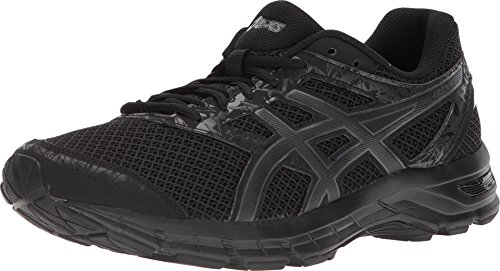 ASICS Gel-Excite 4 Men's Running Shoe, Black/Carbon/Black, 12 M US (Best Running Shoes For Supination)