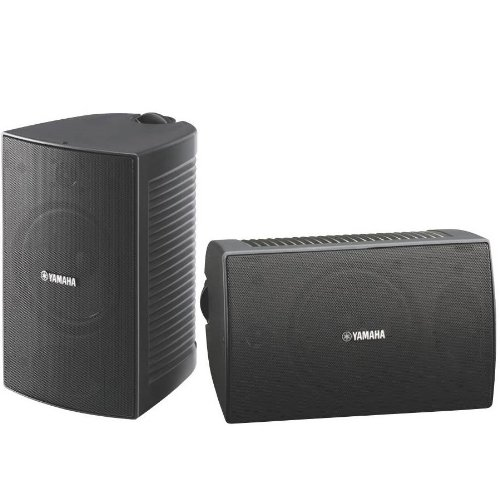 Yamaha NS-AW294BL Indoor/Outdoor 2-Way Speakers (Black,2) by Yamaha Audio