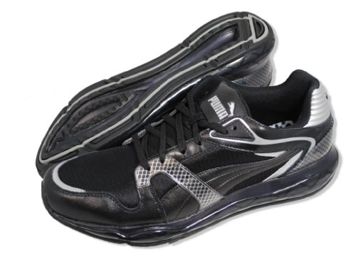 Puma Xs 850 Tech Mesh Lo Black/silver Mens Running Shoes Size Black/Silver cBgucEuD