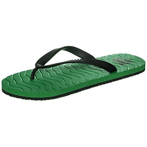 Reef Chipper, Sandalias Flip-Flop para Hombre Varios colores (Green / Black)