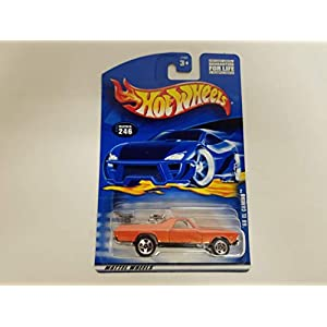 '68 El Camino 2000 Hot Wheels 1/64 Scale diecast car No. 246
