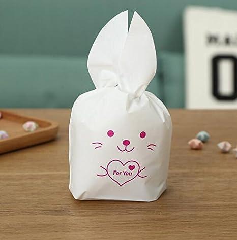 Amazon.com: SaveStore - Bolsas de regalo de conejo para ...
