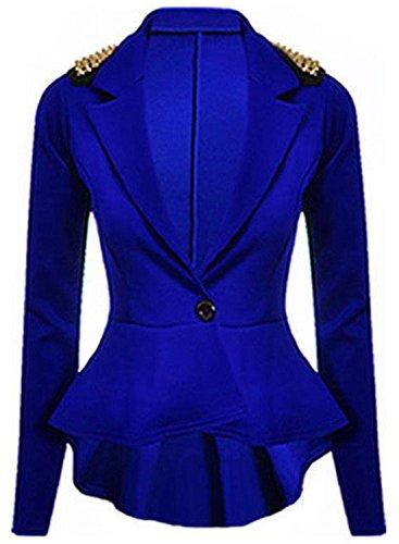amp; mujer real Abrigo azul para Sons Silva Tx0dqnOHO