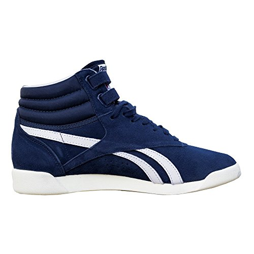 Freestyle Bleu Chaussures de Gymnastique Femme Reebok Hi OfRdOq