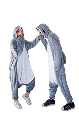Grey Shark Onesie by I Love Yumio