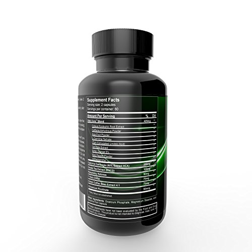 Weight Loss Capsules - DNA Extreme Core (120 capsules)