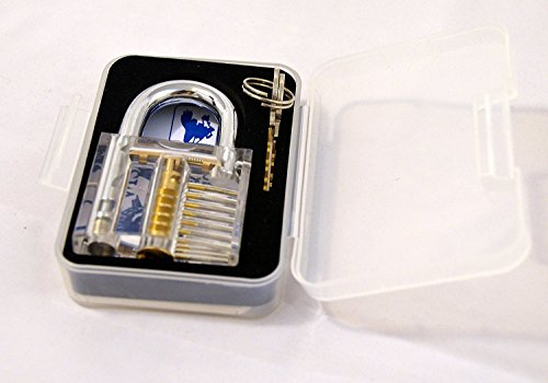 Practice Transparent Cutaway Crystal Locksmith product image