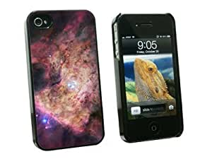 Graphics and More Orion Nebula - Galaxy Universe - Snap On Hard Protective Case for Apple iPhone 5 5s - Black - Carrying Case - Non-Retail Packaging - Black
