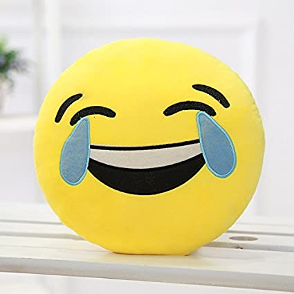 Tickles Sofa Smiley Laught to Tear Cushion Plush