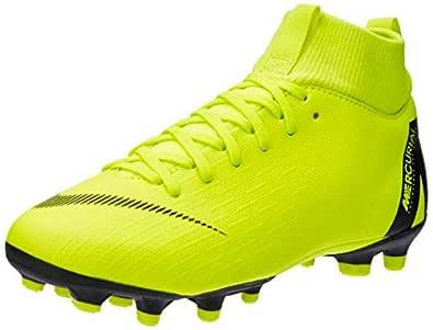 Nike Australia Boys Jr Superfly 6 Academy GS FG/MG Fashion Shoes, Volt/Black, 1 US