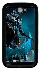 Personalized World of Warcraft Samsung Galaxy Note 2 N7100 Case Custom Samsung Galaxy Note 2 N7100 Case #9665