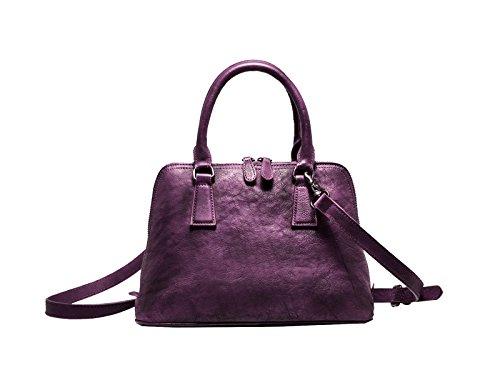 Bolsos Yy.f De Cuero Bolsos De Cuero Nuevos Bolsos De Moda Bolso De Las Señoras Bolsos Nuevos Multicolor Purple