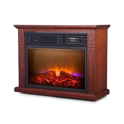 - World Marketing QF4570R 5200 BTU Quartz Fireplc Oak
