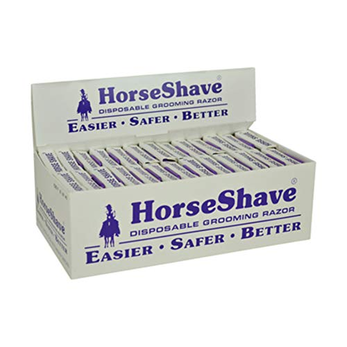 Horse Shave - Disposable Grooming Razor. Easier, Safer, Better (50-Pack) by Horse Shave (Image #3)