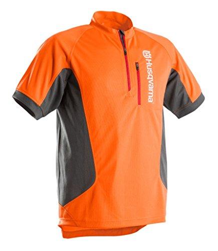 shirt T Abbigliamento A Corta Technical Sleeve Work Husqvarna Short Manica Da Lavoro wI1x1ATX
