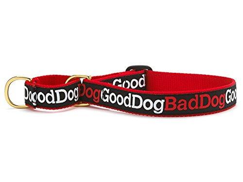 "Up Country Good Dog Bad Dog Martingale Collar (S Narrow 12-17.5"")"