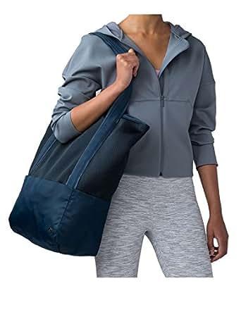 Amazon.com   Lululemon Women's Hot Mesh Tote Blue (JADD