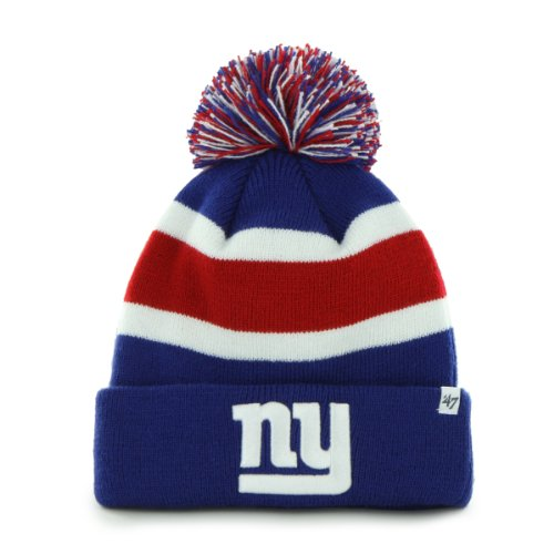 NFL New York Giants Men's Breakaway Knit Cap, One Size, Royal