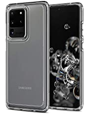 SPIGEN [Ultra Hybrid] Galaxy S20 ULTRA Case Cover with Shockproof Bumper and Premium Clarity Designed for Samsung S20 ULTRA (2020) - Crystal Clear