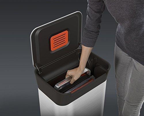 ジョセフジョセフ クラッシュボックス ダストボックス ごみ箱 ゴミを1/3に圧縮するゴミ箱 正規品 Joseph Jopseh お洒落 ごみ箱 B077KS8GXP