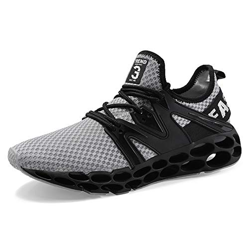 Hasag Calzado Deportivo Novedades Zapatillas para Correr con amortiguación Zapatillas Deportivas Transpirables B gray