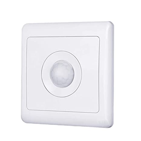 Hemore Sensor de Movimiento automático Interruptor Cuerpo Inducción PIR Detector de Movimiento para Pared LED Luz