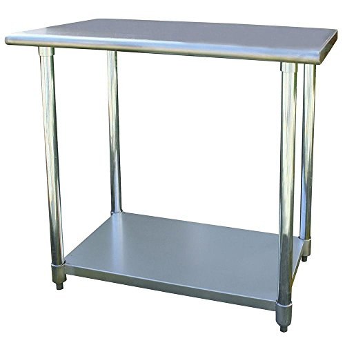 24'' x 36'' Stainless Steel Utility Work Table by Sportsman Series