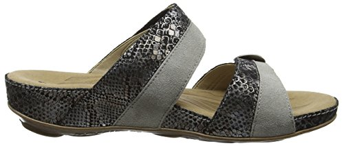 Romika Fidschi 22, Women's Open Toe Sandals Grey (Grey Combi)