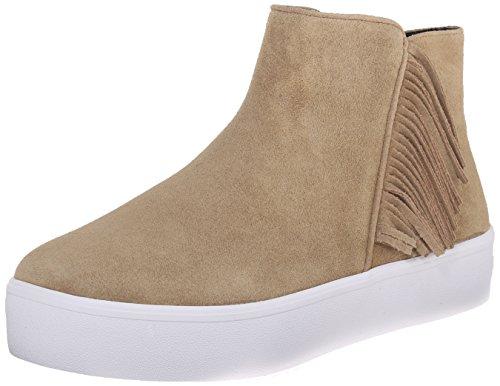 Sneaker Women's Fashion Taupe Rebecca Sneaker Stella Minkoff Suede Suede wfIFqF4