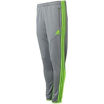 Adidas Speedkick Condivo Pants - Grey/Solar Green - Mens - M