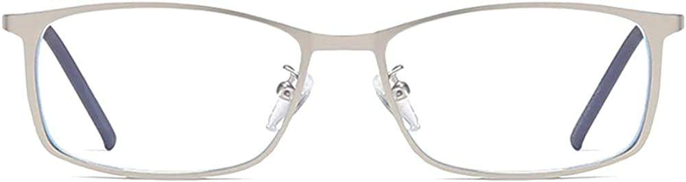 QECEPEI Blue light Blocking Glasses for Mens,Metal Frame,Computer Reading Eyewear