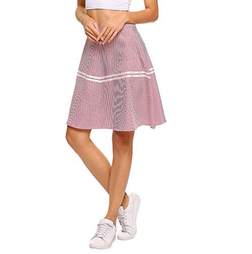 Zeagoo Women's UPF 50+ Golf Running Workout Tennis Athletic Sports Skirt -