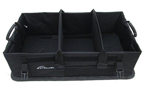 "Stellar Vehicle Organizer (26"" x 15"" x 7"") with Hard Floor and Removable dividers"