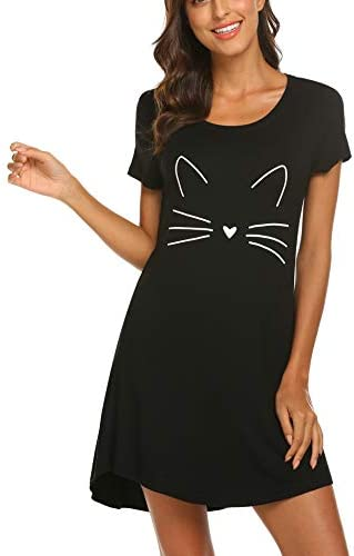 HOTOUCH Sleepwear Nightgown Scoopneck Nightshirt product image