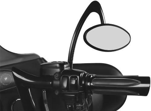 Arlen Ness 13-145 ブラック鍛造ビレットミラー