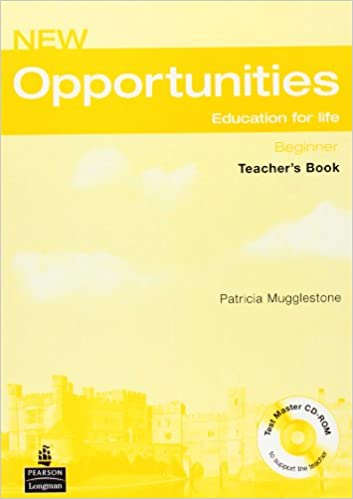 New Opportunities Beginner Teachers Book
