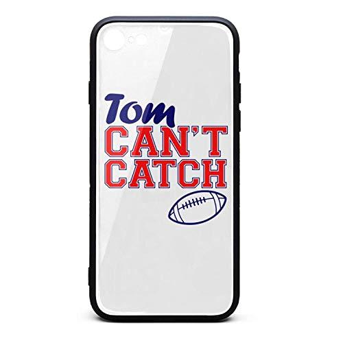 iPhone 6/6S Case Goat 12 Tom Can't Catch Football Slim Anti-Finger Soft TPU Bumper Cover Phone Case for iPhone 6 6S Case [4.7inch] (Best Football Catches 2019)