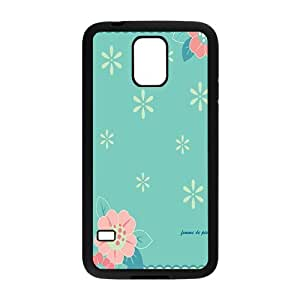 Cute flower cartoon personalized creative clear protective cell phone case for Samsung Galaxy S5